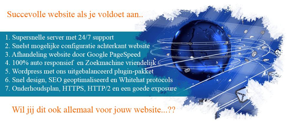succesvolle website
