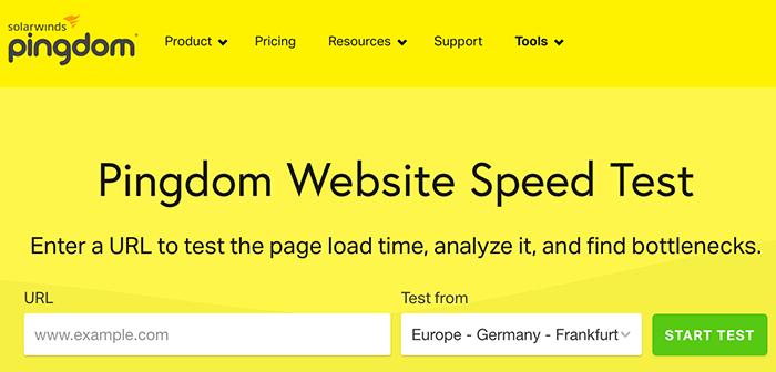 populaire tool om de snelheid van je website te testen