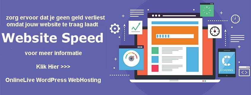 Snelheid is Ranking is Omzet - Het internet wordt steeds mobieler en Google kijkt steeds kritischer naar de laadtijd van een website